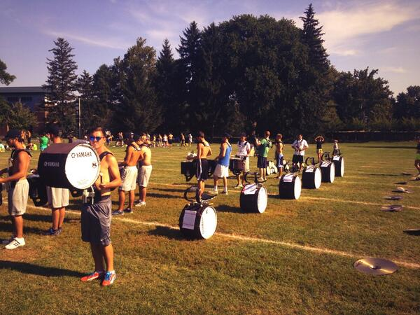 RT @msudrumline: It's OK basses,