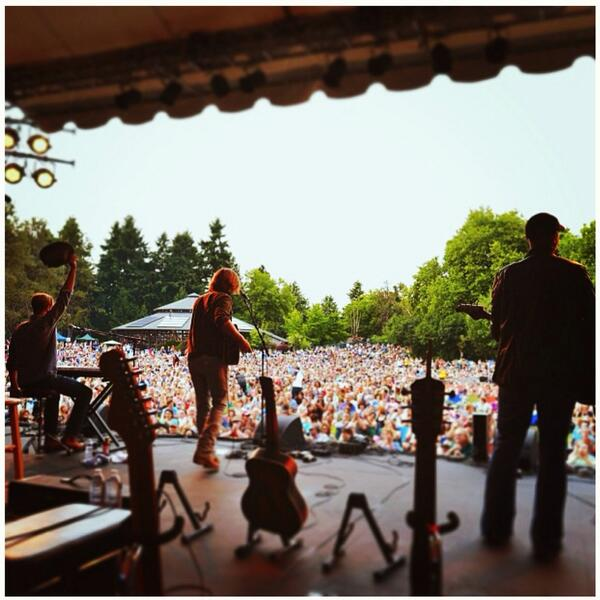 Amazing week with my band Jamestown Revival this week in Seattle.  3 days I won't forget... http://t.co/6ZPEj3ek59