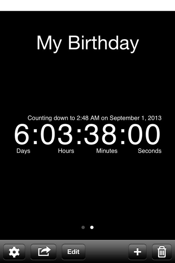 Taylar Peterson On Twitter 6 Days And 3 Hours Remaining Until My Birthday Http T Co Wv4g2bortz