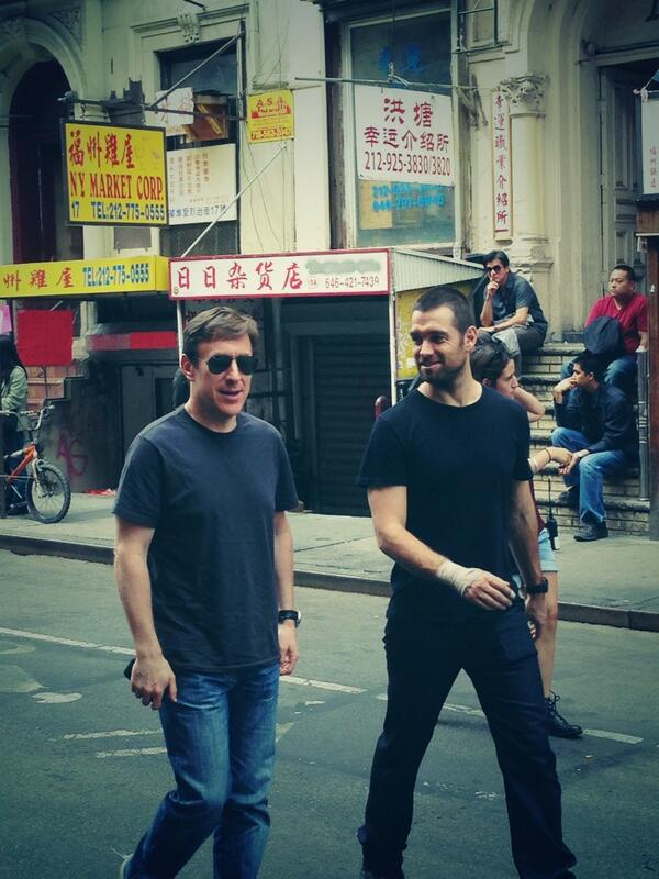 nice. @Jtropper and @antonystarr spotted in Chinatown #banshee #nyc http://twitter.com/GregYaitanes/status/372029249987031040/photo/1
