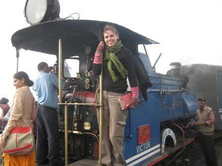 A2 How about the Toy Train, Darjeeling! Toot toot! #travelindia http://twitter.com/vagabondbaker/status/372030979738574848/photo/1