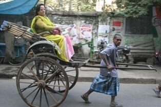 The sight of human pulled rickshaw in Kolkata is so heartbreaking. Sad. I wish it get removed. #travelIndia http://twitter.com/kp1200/status/372042919223386112/photo/1