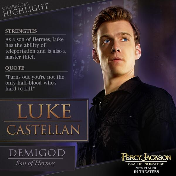 "Percy Jackson on Twitter: ""Luke Castellan is on a quest to ..."
