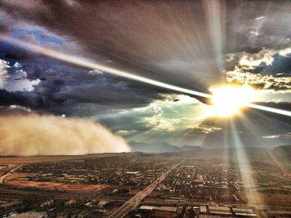 Thumbnail for Dust storm blows through Phoenix