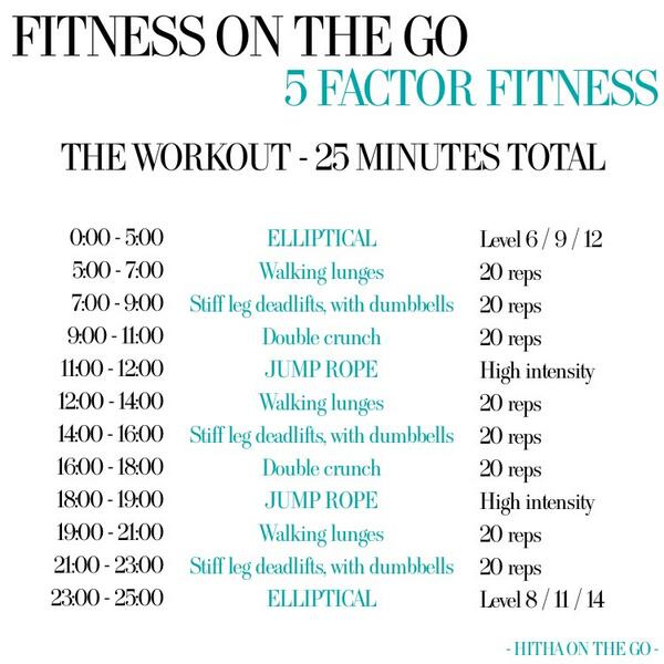 "Life Pro Fitness on Twitter: ""25 min workout http://t.co ..."