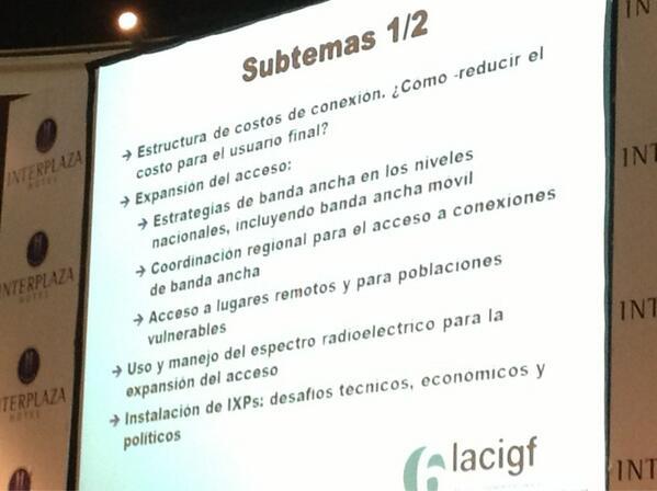 Inicia Acceso y diversidad: Internet como un motor para el crecimiento y el desarrollo sostenible  #Lacigf http://twitter.com/tikinauta/status/372339839951044610/photo/1