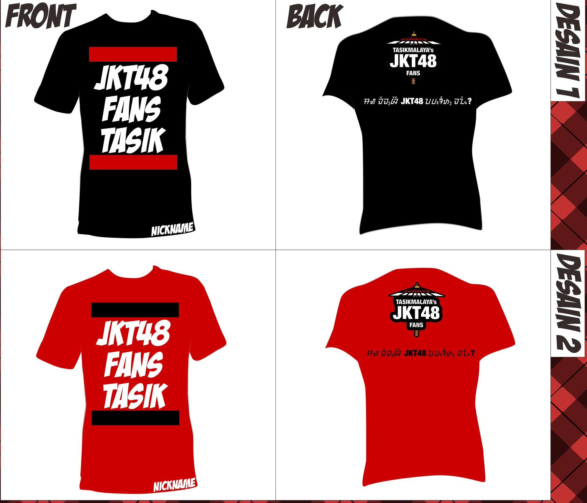 Desain t shirt jkt48 - Jkt48 Fans Tasik On Twitter Ini Untuk Desain Baju Jkt48 Tasikmalaya Fanbase Nya Http T Co Ijpxiaxwyw