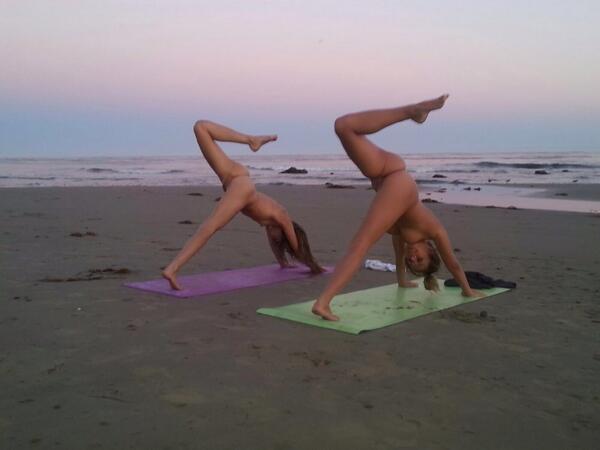 Beautiful beach girls nude