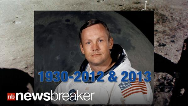 Neil Armstrong died last year, died again on the internet ...