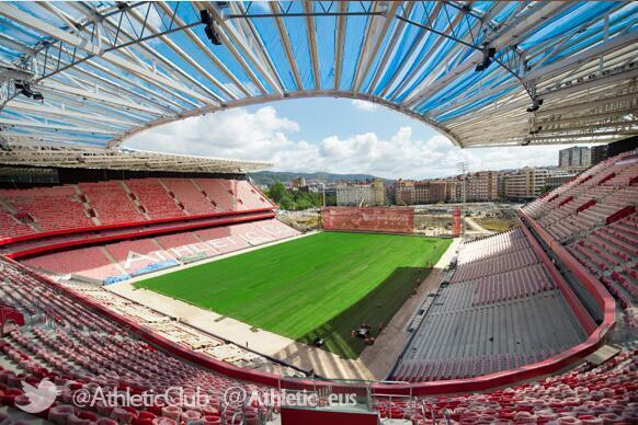 Tips fútbol on twitter jpg 582x388 Nuevo estadio del athletic bilbao c053c9f5453eb