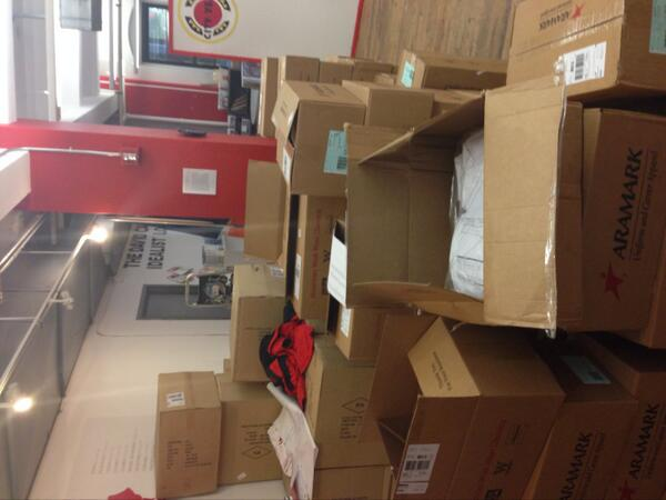 First project of the day- prepare uniforms for @CityYearNewYork Corps members #DayInTheLife http://twitter.com/NYUWassEmployer/status/372714936818204672/photo/1