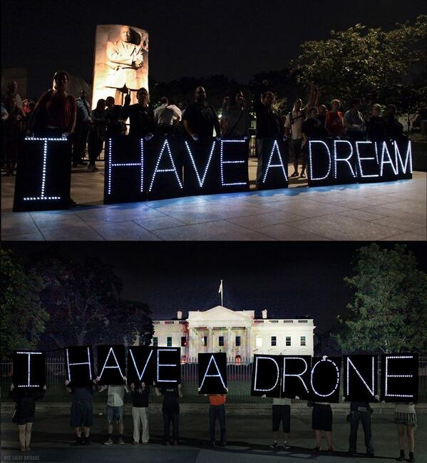 I have a dream -> I have a drone