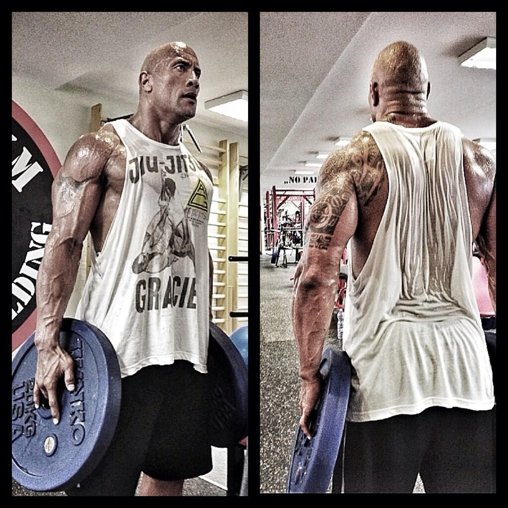 "Dwayne Workout: Dwayne Johnson On Twitter: ""Quad Workout Finisher Try"