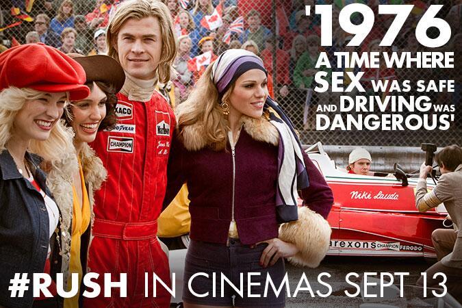 Rush (2013) Poster