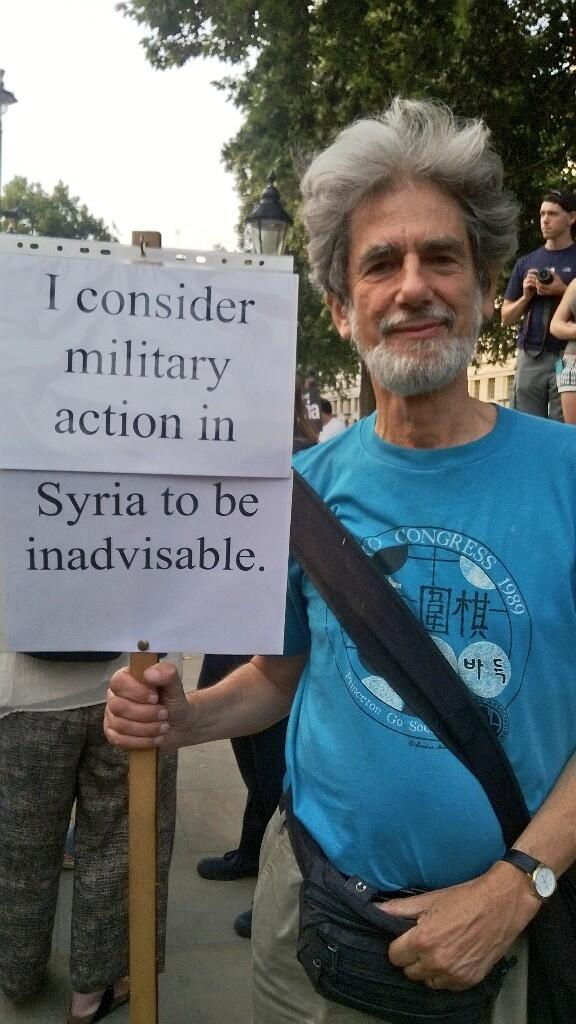 The most British protest sign ever. RT @RedPeppermag: A particularly polite protester outside Downing Street #Syria http://t.co/8P8buvJhpV