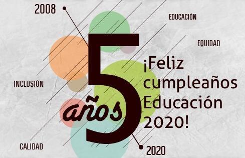 Thumbnail for 5to cumpleaños de Educación 2020