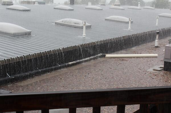 Here's the view from our roof at 2001 S. Havana in #Aurora #Flood http://twitter.com/EdBozarthChevy/status/378173794503766016/photo/1