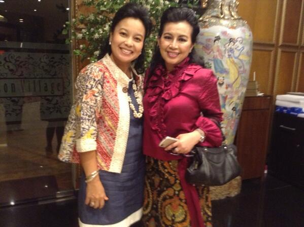 With Mb Tuti @ Diamond, pisah sambut Kapolres Surakarta