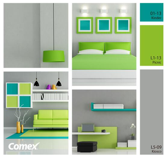 Comex on twitter mira esta idea de ensue o para la for Gama de colores para interiores