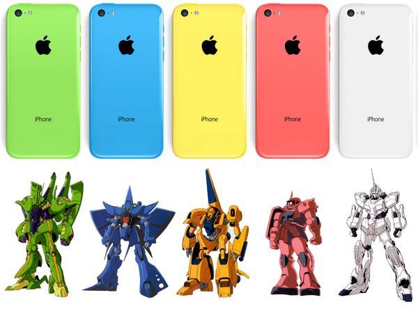 iPhone 5cの対応表作った。 http://t.co/jzw8w1zbk0