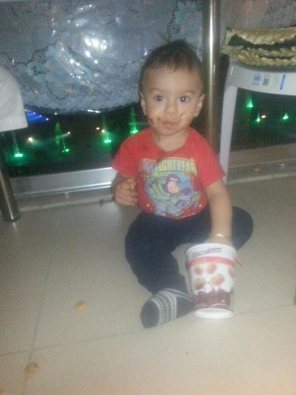 #ThankYou Birsen for sharing this picture with us! Your son is just so lovely full of #Biscolata :) http://t.co/fEYeq01ymv