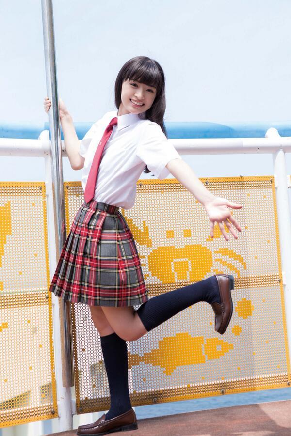元気いっぱいな優希美青。