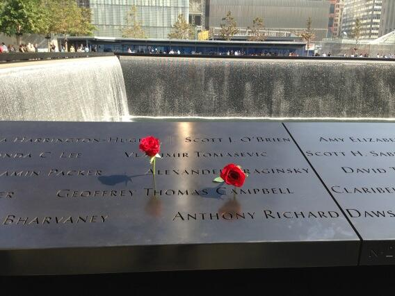 Ceremony @Sept11Memorial moving in its simplicity.  No speeches, just reading of names.  #Remember. @wcbs880 http://twitter.com/peterhaskell880/status/377803558168838144/photo/1