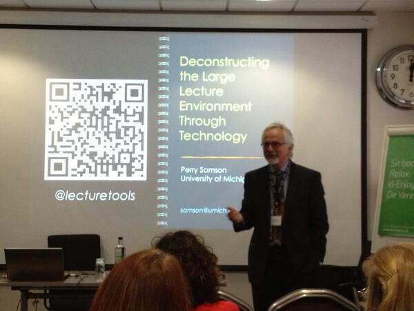 altc2013.alt.ac.uk/sessions/decon… nice presentation #altc2013 Deconstructing large lectures 4U @vernonrive http://twitter.com/thomcochrane/status/377750896845025280/photo/1