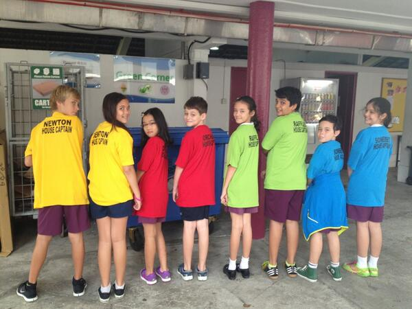 House Captains in their new shirts ready for tomorrow's Sports Day! http://twitter.com/ISSPhysEd/status/377974719040864256/photo/1