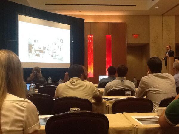 Wayne St. Amand, VP, marketing, at Crimson Hexagon, breaking down social media analytics importance #SMWA http://twitter.com/cmswire/status/378153218548588544/photo/1