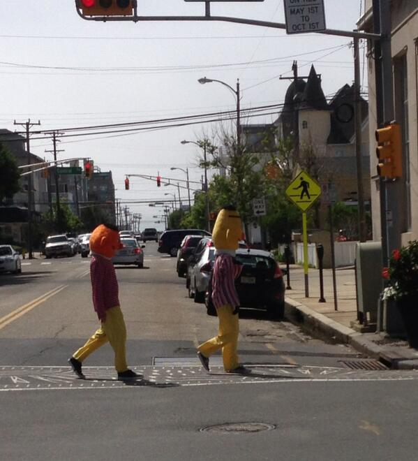 On the corner of Abbey Road & Sesame Street. http://t.co/82KE7NmCs4