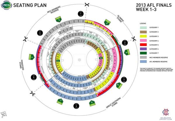 Mcg Seating Map Melbourne Cricket Ground on Twitter: