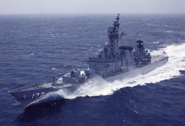 ぜかましちゃんの愛称で人気の艦艇ですが、ここで海上自衛隊の護衛艦しまかぜを見てみましょう。#護衛艦 #艦これ