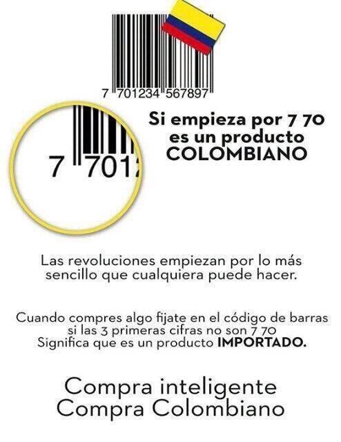 Resultado de imagen para colombiano compra colombiano