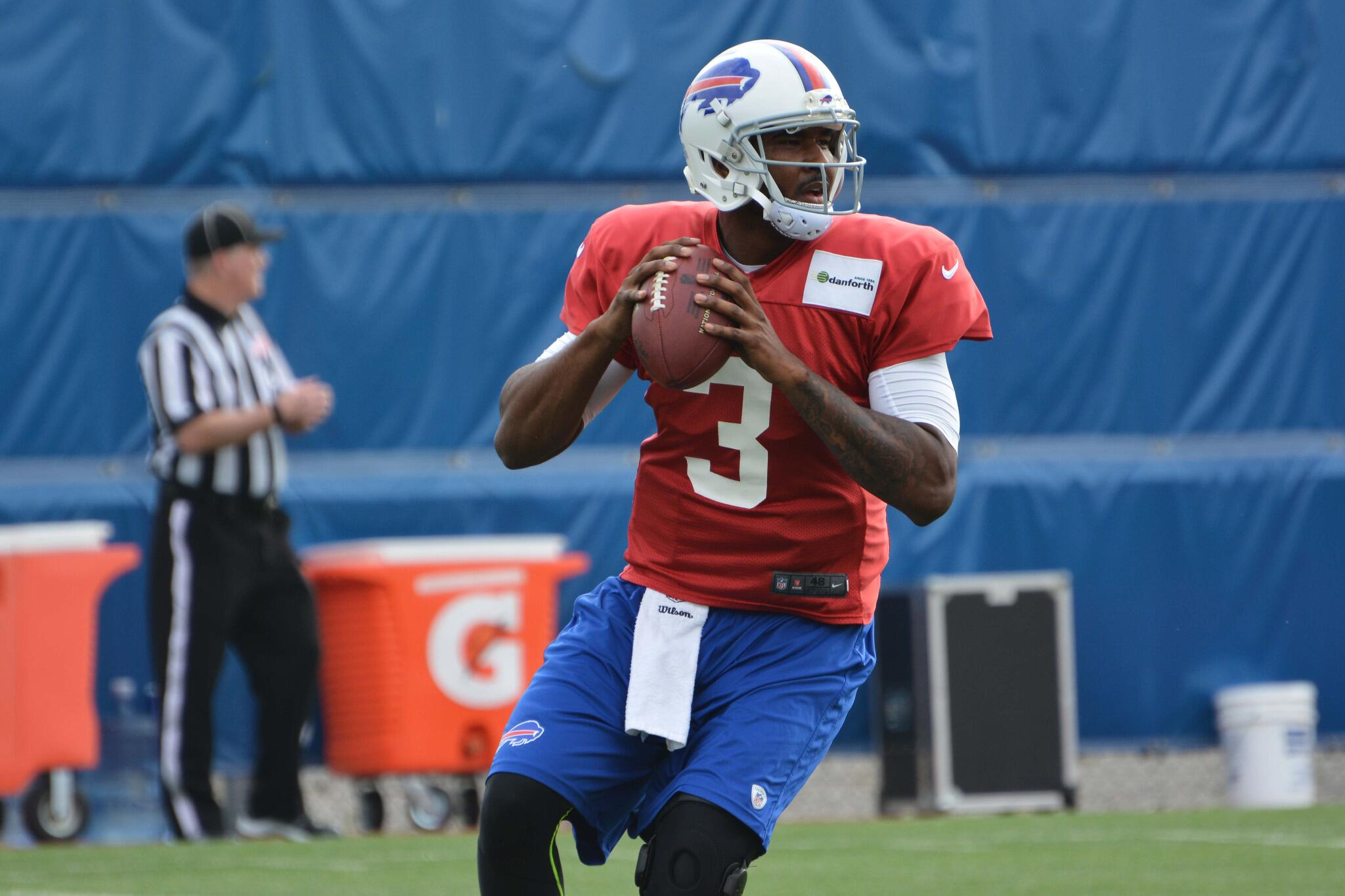 EJ Manuel returned to Bills practice Sunday.