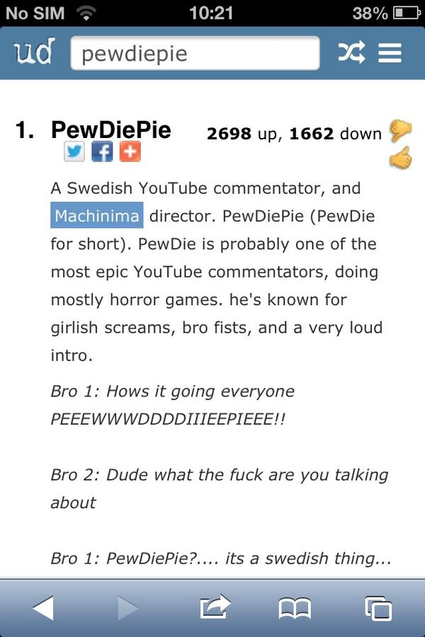 chris stark on twitter pewdiepie pewds on urban dictionary d girlishscreams itsaswedishthing http t co aikdfwmbpv
