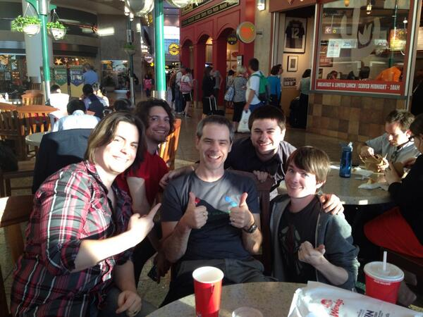 Grant Kirkhope pictures with the Grumps?Grant Kirkhope pictures with the Grumps?