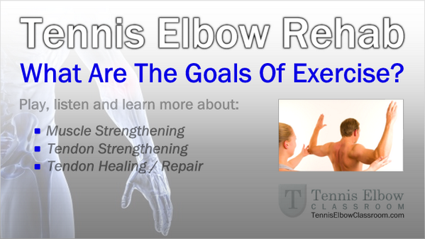What Are The Goals Of Exercise In Tennis Elbow Rehabilitation? - http://t.co/91vhRmzWFf http://t.co/Bj88M3vokI