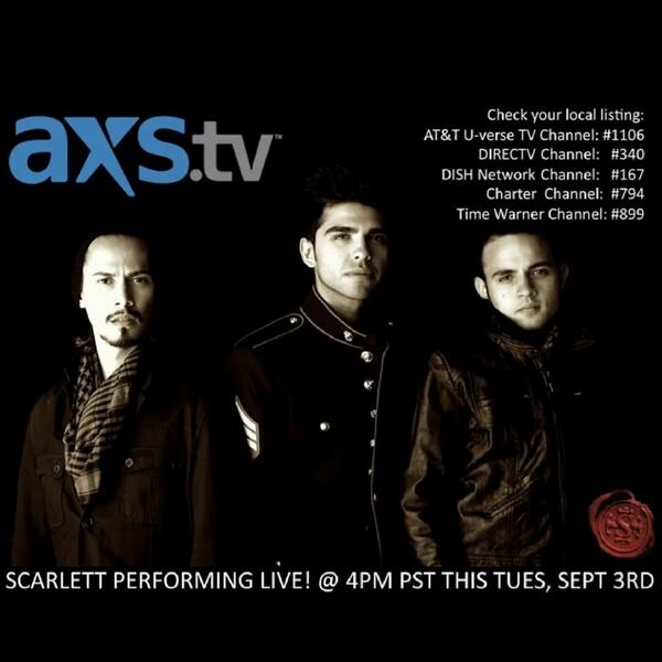 Stay tuned, our first National TV debut tomorrow night #axslive #axstv http://t.co/8k5rgFSf25