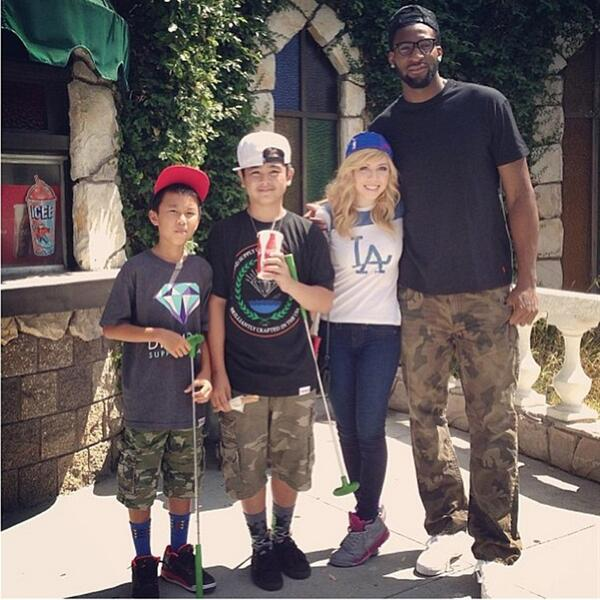 Andre drummond dating nickelodeon star