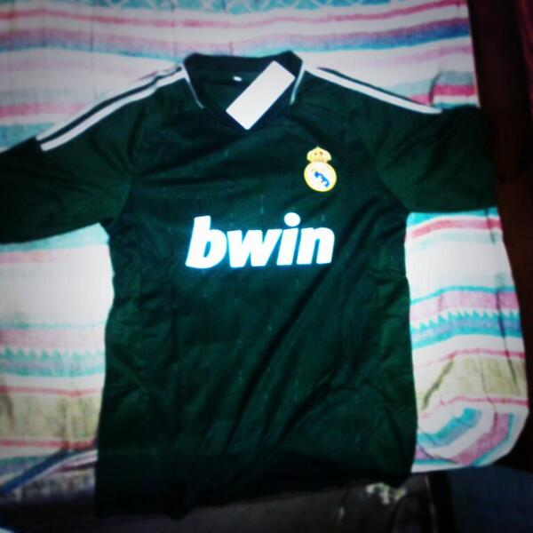 camiseta real madrid verde 2013
