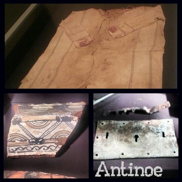 @museiincomune @MuseoArcheoVene Ah sì?Rispondiamo con i materiali da Antinoe, la città dedicata ad Antinoo da Adriano http://twitter.com/MAF_Firenze/status/374873093627707392/photo/1