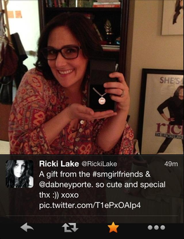 Twitter / SmGirlFriends: LOOK >> even @RickiLake ...