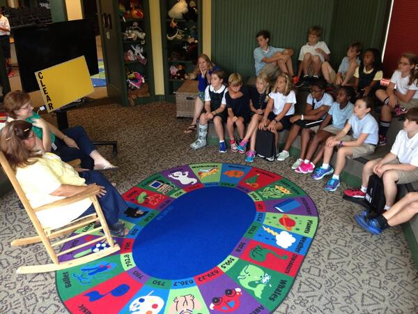 Learning all about the new media center! #TrinityLearns http://twitter.com/Walker5th/status/374961262125658112/photo/1