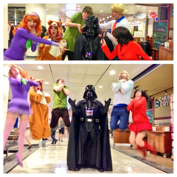 Here's why Vader had to force choke them meddling kids. #DragonCon  @katiecosplays @MnikaLee @clifftunnell @Ridd1e http://twitter.com/emanonDesign/status/374962581032960000/photo/1