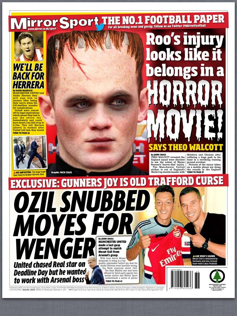 Mesut Ozil snubbed David Moyes & Manchester United for Arsene Wenger [Mirror]