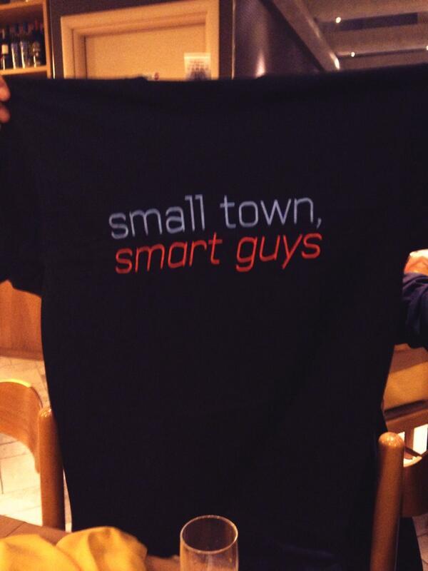 Small town, Smart guys #pzsmart http://twitter.com/gba_mm/status/375134465557024768/photo/1