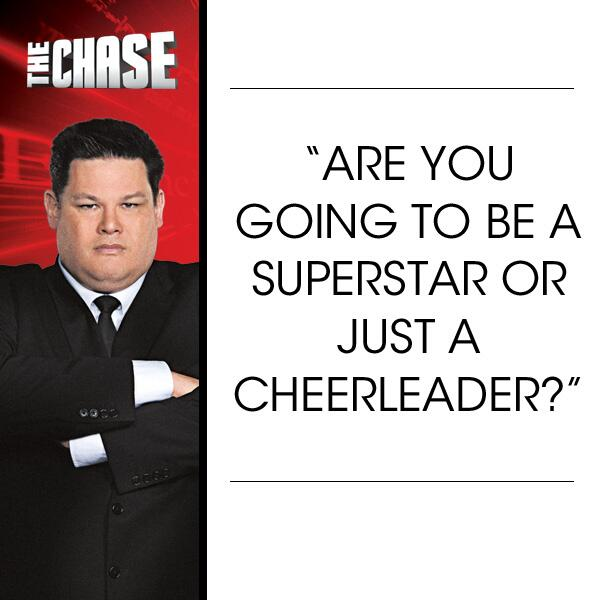 Twitter / TheChaseusa: Deep question! What are you? ...