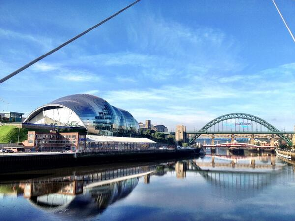 Newcastle looking stunning at #praxisandpoetics this morning http://twitter.com/HazeloneWhite/status/375163310712160256/photo/1