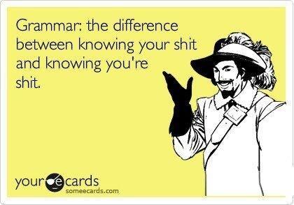 BuzzFeed On Twitter Jokes Only Grammar Nerds Will Understand - 19 jokes only grammar nerds will understand
